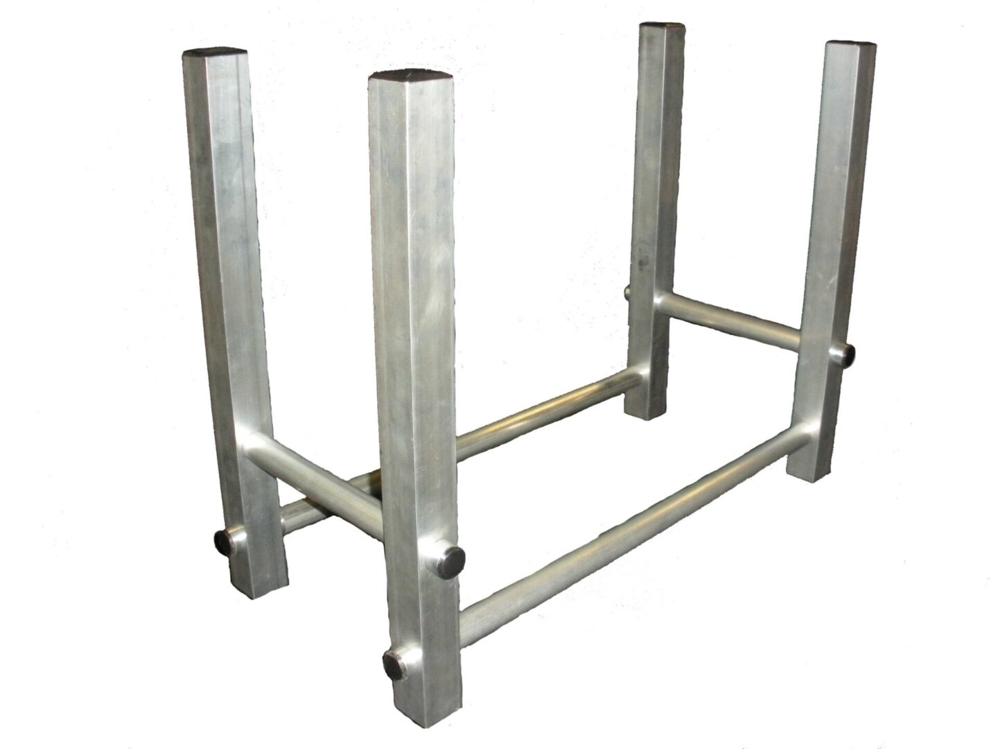 TFH-1 transportable firewood holder aluminum frame